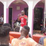 "Okyeame Kwame shows ""Class"" at the Kri8 Music Seminar"