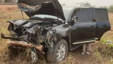 Photo of Muntaka, Banda MP survive road accident near Konongo