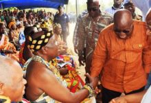 Photo of President promises development projects in Adaklu
