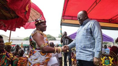 Photo of Nkwanta South chiefs hail President for sterling leadership