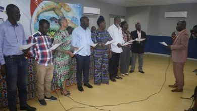 Photo of 9-member LOC inaugurated for Africa swimming championship