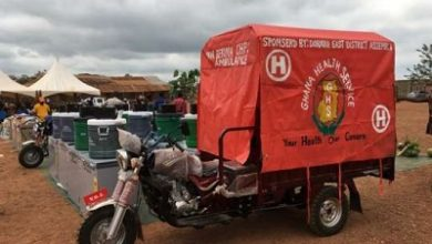 Photo of Dist health director justifies use of tricycle for ambulance services