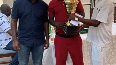 Photo of Golf: Agaza Mensah wins Caddies golf competition