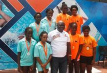 Photo of Maiden Open Swimming Champs held at Bukom Arena