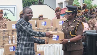 Photo of NGO donates items worth GH₵9,000 to Prisons Service to fight coronavirus