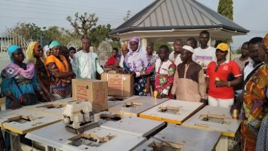 Photo of Bole-Bamboi MP donates sewing machines to constituents