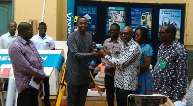 Photo of Ghana School of Surveying get equipment worth GH¢135,000