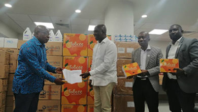 Photo of Tobinco donates PPEs to Health Ministry