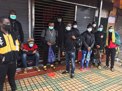 Photo of Africans 'evicted from Chinese hotels over COVID-19 fears'