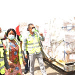 China hands over 60MT of medical supplies to Ghana