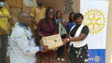 Photo of COVID19: Rotarians in Ghana supports health practitioners with PPEs
