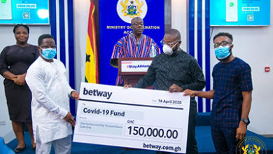 Photo of COVID-19: Betway Supports Government with GHC150,000