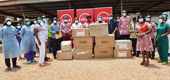 Photo of Absa Bank Ghana, Genser Energy and partners donate medical supplies to help fight COVID-19