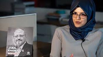 Photo of Khashoggi  fiancée rejects family forgiveness offer