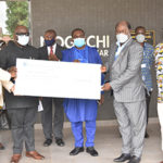 Ghana missions abroad donate $100,000 to NMIMR … Ghana's High C'ssioner to India gives 100,880 test kits