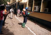 Photo of Zoomlion disinfects police installations in 3 regions