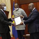 President grants presidential charters to 2 varsities