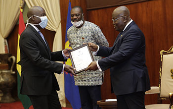 Photo of President grants presidential charters to 2 varsities