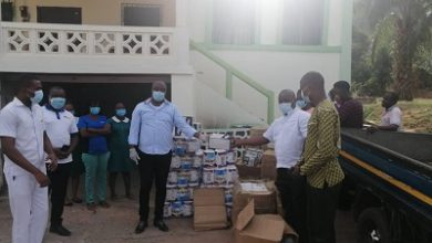 Photo of First Sky Group donates PPE to 5 Hospitals in Volta Region
