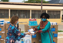 Photo of UNICEF donates sanitary items, PPE to needy institutions
