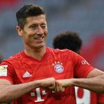 Lewandowski equals record… as Bayern wallop Fortuna Dusseldorf