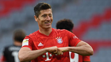 Photo of Lewandowski equals record… as Bayern wallop Fortuna Dusseldorf