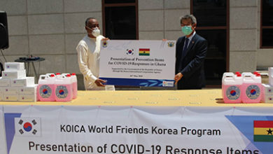 Photo of Korean Ambassador lauds Ghana's COVID-19 recovery rate