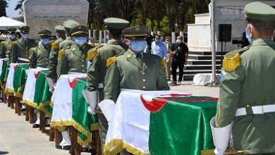 Photo of Algeria buries remains of anti-colonial fighters after 150 years