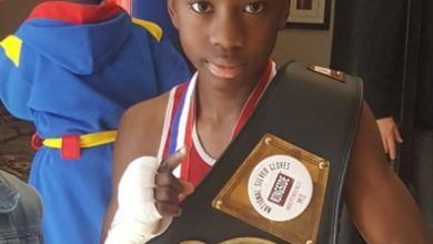 Photo of US based juvenile boxer supports 2 young boxers