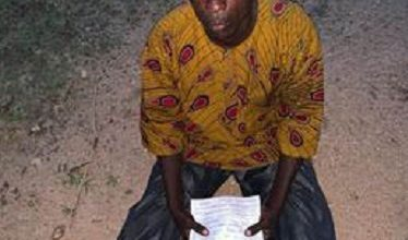 Photo of Togolese arrested for attempting to acquire voter's identification card