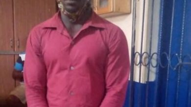 Photo of Suspected Togolese grabbed at Kpone for attempting to register as voter