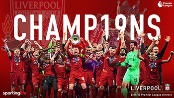 Photo of Liverpool celebrate first EPL title after 30 years