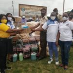 ECG Power Queens Club donates to Koforidua Prisons Service