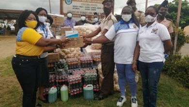Photo of ECG Power Queens Club donates to Koforidua Prisons Service