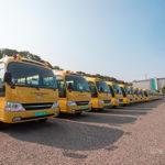 Veep presents 100 buses to Senior High Schools in 9 regions