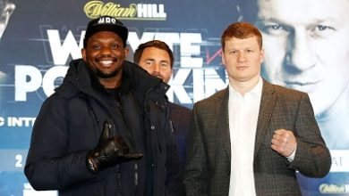 Photo of Whyte, Povetkin fight confirmed