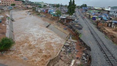 Photo of Abofu drain; another flood disaster waiting to happen?