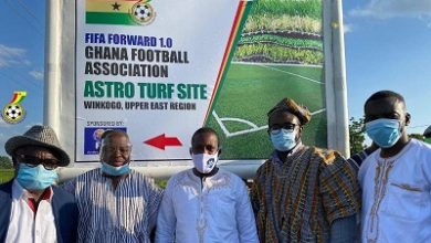 Photo of GFA secures land to construct  astro turf at Bolgatanga