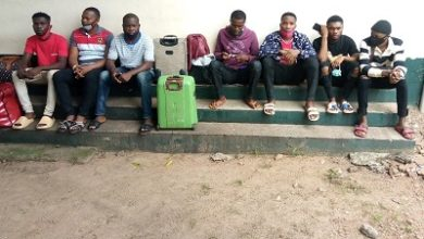 Photo of 7 Nigerian illegal immigrants to be quarantined for 2 weeks