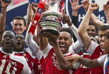 Photo of Arsenal grab 14th FA Cup…as Aubameyang double silence Chelsea