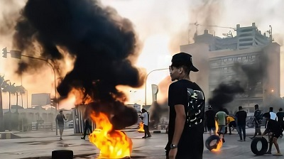 Photo of Protesters set govt building on fire in eastern Libya