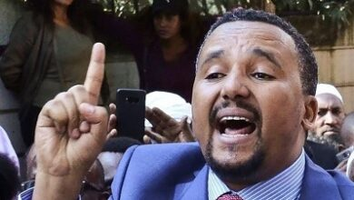 Photo of Ethiopia opposition figure 'proud' of terror charge