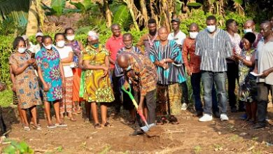Photo of Dan Botwe initiates c'nity innovation projects for constituents
