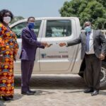 Prudential Bank donates vehicle support of 2020 Teacher Prize