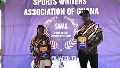 Photo of Amoah, Ntumi grab SWAG Weightlifters of the Year awards