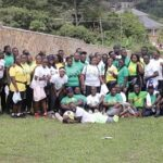 Fitness walk for Apam SHS 2004 Year Group