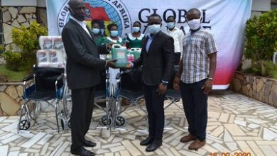 Photo of NGO presents items to St Anthony