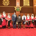 President swears in 16 High Court judges