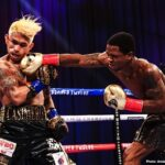 Micah stopped in 3rd round of WBO title fight