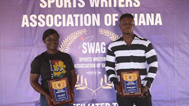 Photo of Mintah, Kwakye are SWAG weightlifting Athletes of the Year